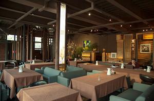 155平米现代工业风格咖啡厅装修效果图赏析