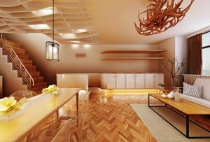 300平米现代风格美容院装修效果图鉴赏