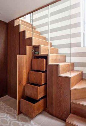 现代风格错层创意楼梯设计装修效果图