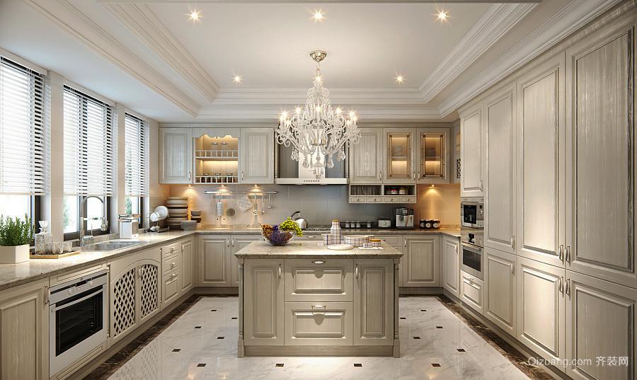 14平米现代欧式风格厨房装修效果图赏析