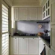 简欧风格大户型室内整体厨房橱柜装修效果图赏析