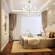 26平米现代风格卧室窗帘设计效果图鉴赏
