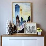 北欧风格小户型客厅玄关设计效果图赏析