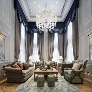 现代简约欧式风格大户型室内装修效果图鉴赏