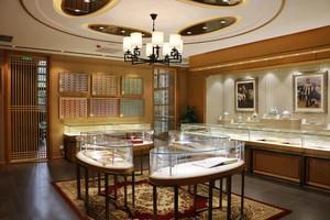 古典欧式风格商场珠宝店展柜装修效果图