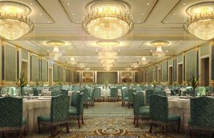 333平米现代简约风格酒店装修效果图赏析