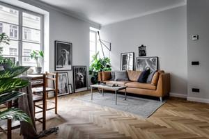 52平米北欧风格单身公寓室内装修效果图鉴赏