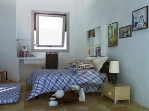 18平米现代简约风格儿童房装修效果图赏析