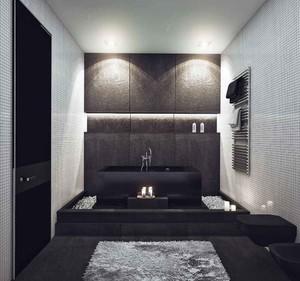 60平米后现代风格一居室小户型装修效果图