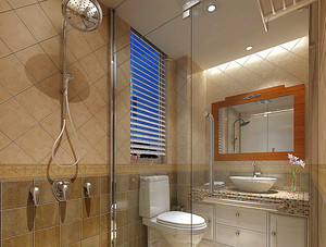 50平米现代简约风格小户型室内装修效果图