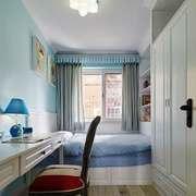 都市简约风格清新舒适儿童房设计装修效果图