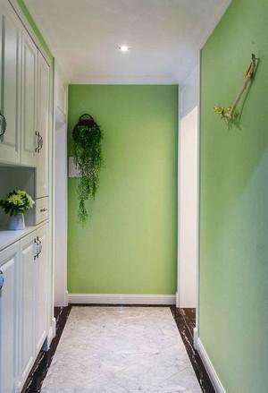 现代简约小清新风格入户玄关柜设计装修效果图
