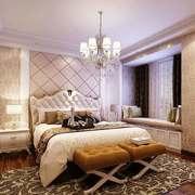欧式风格卧室背景墙装修效果图赏析