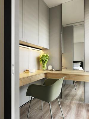 轻快自然80平米现代简约风格室内装修效果图