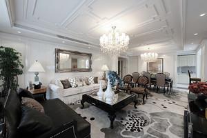 现代简约欧式风格两室两厅室内装修效果图