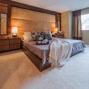 东南亚风格大户型室内卧室背景墙装修效果图赏析