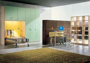 现代简约风格缤纷色彩儿童房设计装修效果图大全