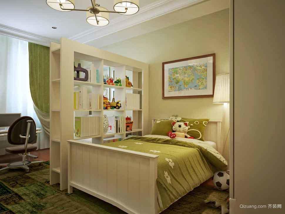 14平米北欧风格儿童卧室设计装修效果图