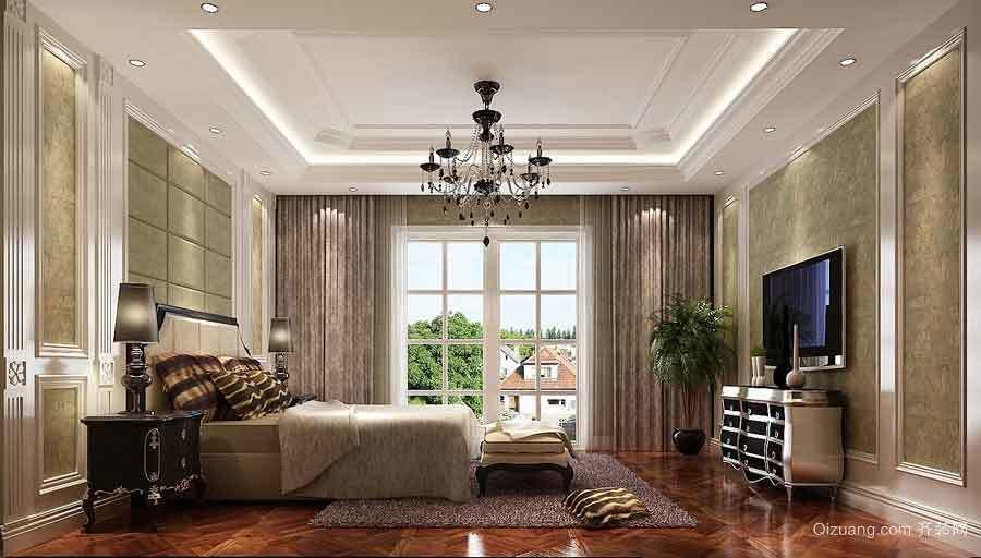 300平米古典欧式风格两层别墅室内装修效果图鉴赏