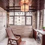 古典中式风格阳台设计装修效果图赏析
