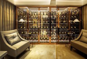 146平米后现代风格精致酒柜设计效果图
