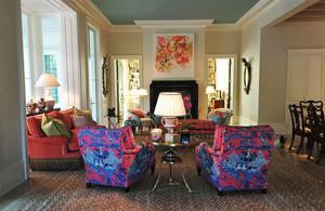 美式风格三居室客厅装修设计效果图赏析