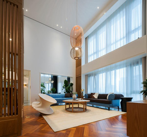 现代中式风格大户型室内装修效果图鉴赏