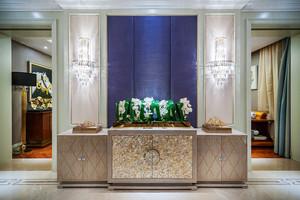 欧式风格二居室客厅玄关设计效果图鉴赏