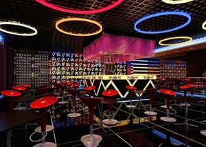 后现代风格个性酒吧设计装修效果图赏析