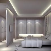 22平米现代简约风格白色卧室装修效果图赏析