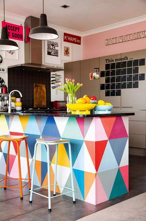 北欧风格小户型色彩混搭室内装修效果图鉴赏