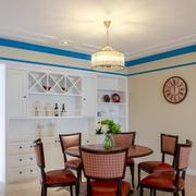 现代风格三居室餐厅吊顶装修效果图赏析