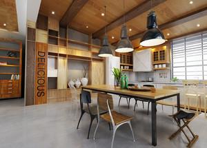 后现代风格小户型餐厅装修效果图鉴赏