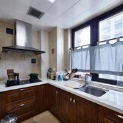 12平米现代风格小厨房装修效果图赏析
