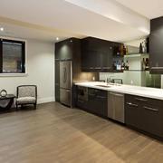 后现代风格大户型室内开放式厨房装修效果图赏析