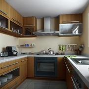 12平米现代简约风格厨房装修效果图