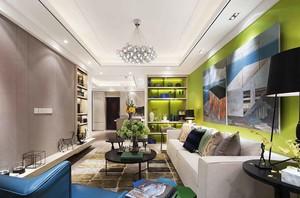 现代风格明亮舒适大户型室内装修效果图案例