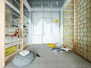 现代简约风格儿童房装修效果图案例