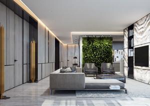 120平米后现代风格室内装修效果图赏析