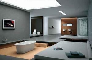 简约风格大户型室内卫生间装修效果图大全案例