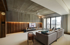 后现代风格跃层室内装修效果图鉴赏