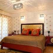 东南亚风格两居室卧室装修效果图
