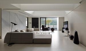 现代简约风格小别墅室内整体装修效果图赏析