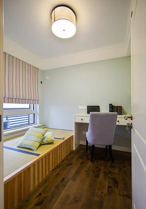 现代美式风格三室两厅一卫室内装修效果图赏析