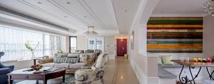 140平米现代欧式风格大户型室内装修效果图