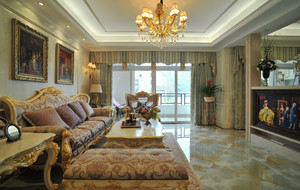 豪华奢侈欧式风格别墅室内装修效果图赏析