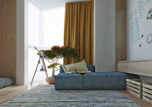 现代极简主义风格80平米室内装修效果图赏析