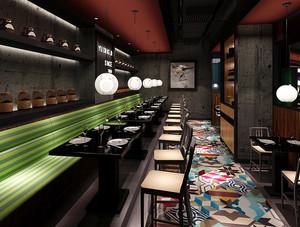 210平米后现代风格餐厅装修效果图赏析