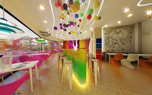 199平米现代简约风格餐厅装修效果图