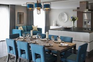 60平米地中海风格餐厅装修效果图赏析